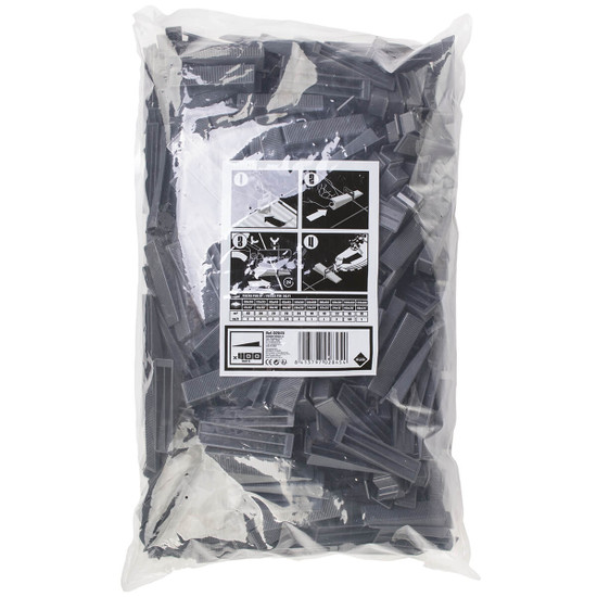 Rubi Delta Leveling System 400 Wedges in Bag
