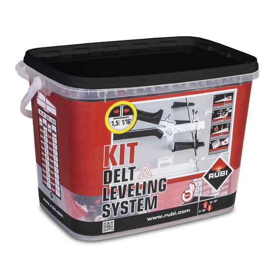 Rubi Delta Leveling System 1/16 inch Kit
