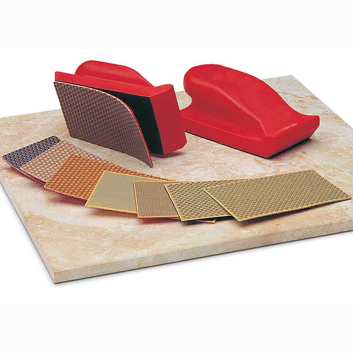 Diamond Polishing Hand Pad 8 Piece Kit