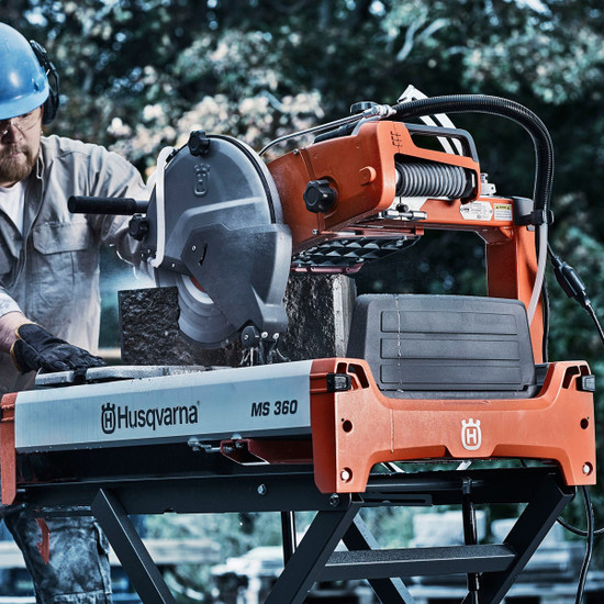 Husqvarna MS 360 14 brick and block saw