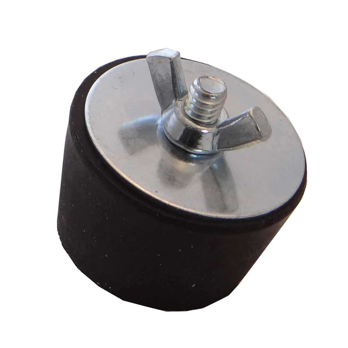 Expanding Rubber Drain Plug for Tile Saw Water Pans