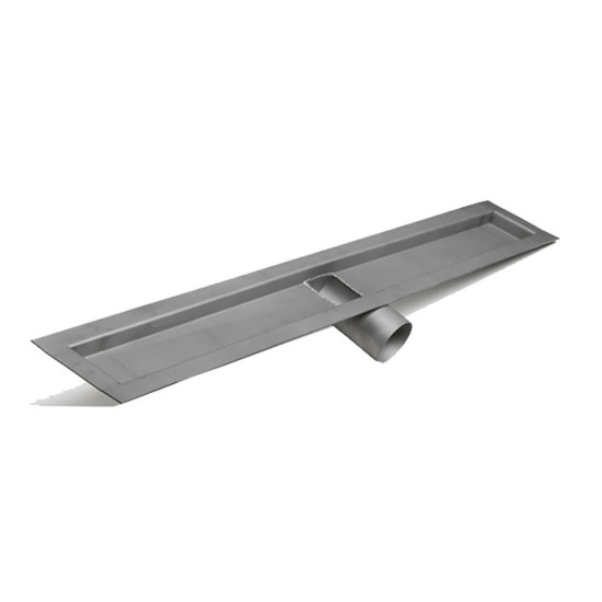 Laticrete Hydro Ban Side Outlet Linear Drain Trough