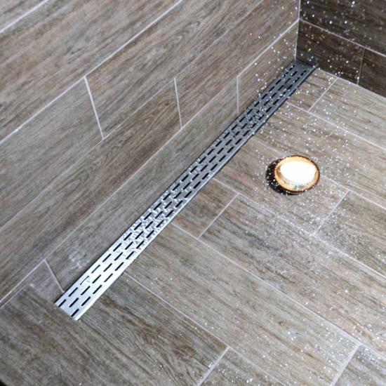 Laticrete Hydro Ban Linear Shower Drains