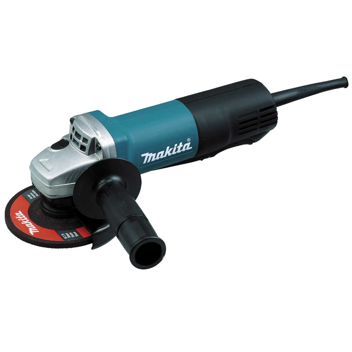 makita 4 1/2in angle grinder with paddle