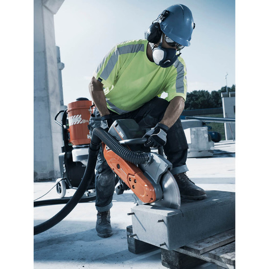 Husqvarna K770 VAC Cut-Off Saw for Concrete Cutting