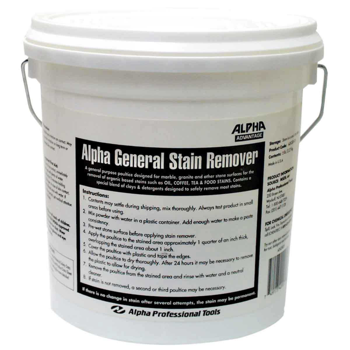 Alpha 5 lb General Stain Remover for Stone