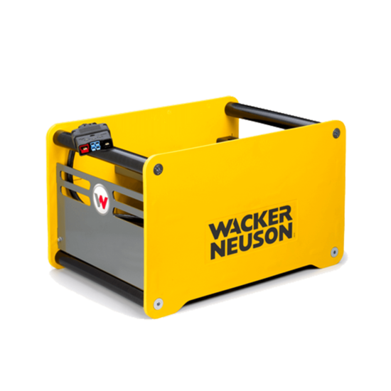 Wacker Neuson Charger for Battery Powered Rammer 5100028231