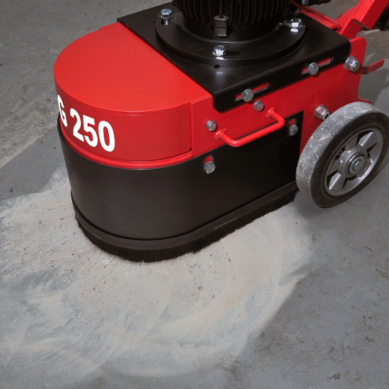 TCG 250 Trelawny Floor Grinder Optimized grinding pressure and speed for high productivity Suitable for small and medium jobs