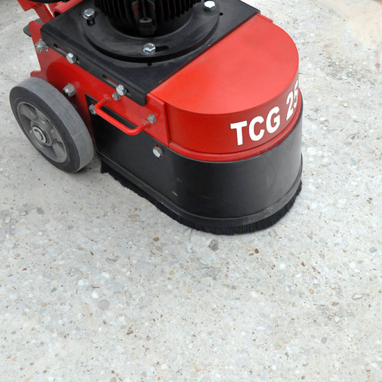 trelawny tcg250 Suitable for small and medium jobs Fast leveling of high spots Removal of coatings and adhesives, preparation and repairing damaged concrete Polishing of concrete and other material