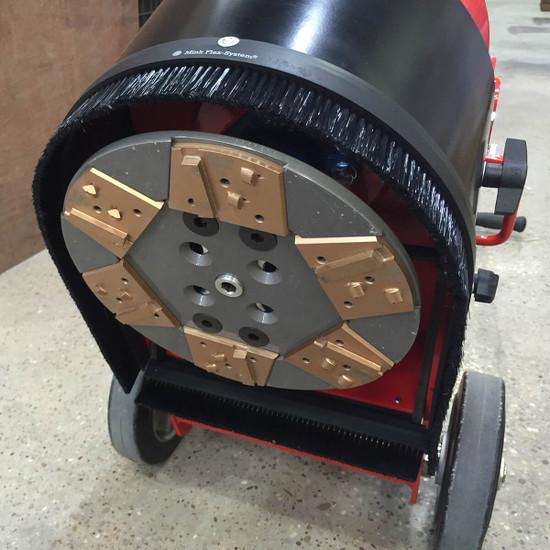trelawny floor grinder 6 Segment Quick Release Plate 350.5660 for aggressive concrete grinder