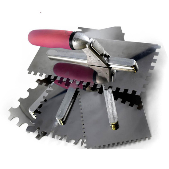 Donnelly Notched Trowel Blades