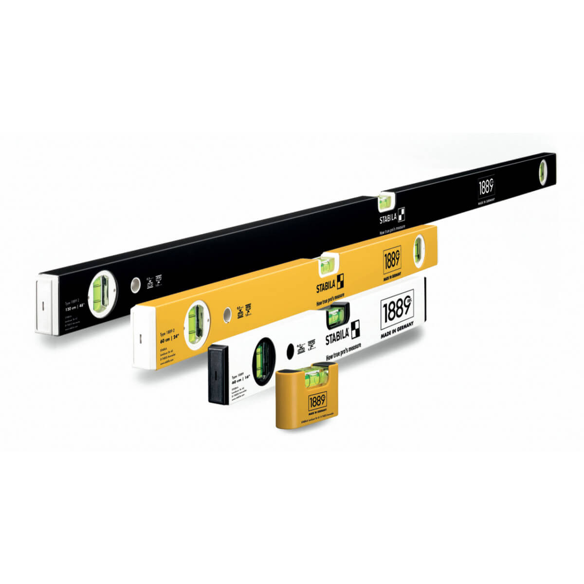 Stabila Limited Edition 4-Piece Level Set