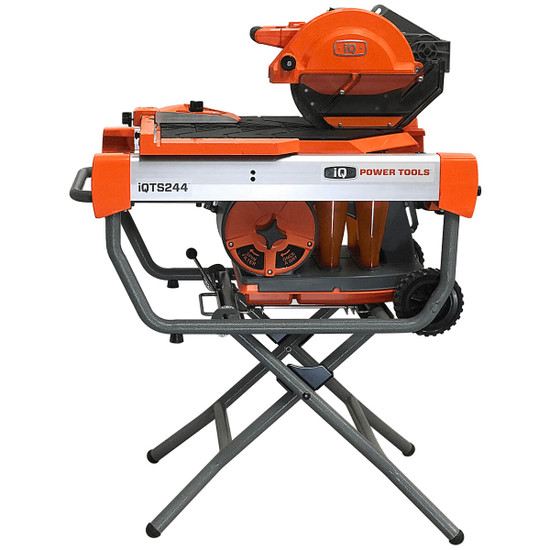 "iQ Power Tools 10"" Dry-Cut Tile Saw with iQTS-XS Stand"