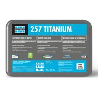 Laticrete 257 Titanium Grey Thin-Set Mortar 25 lbs. Bags