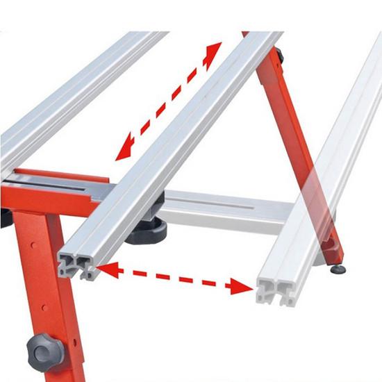 Adjustable Work Table for Large Format Tile