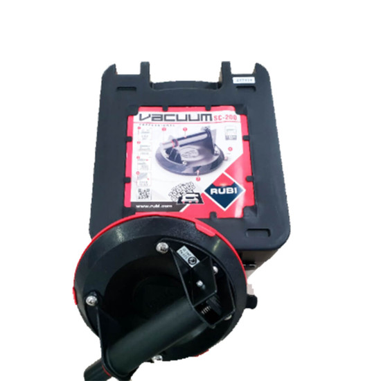 18919 Rubi Vacuum Suction Cup Comes with hard plastic carrying case for protection and easy transport