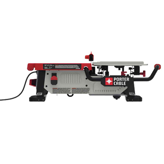 Porter Cable 7 inch Wet Tile Saw side view