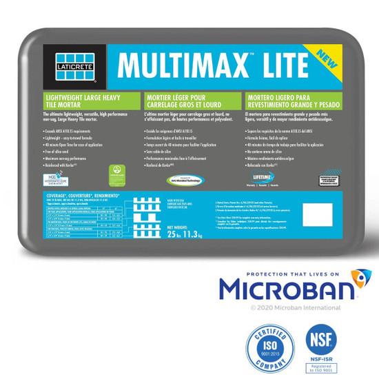 Laticrete MultiMax Lite Grey Mortar with Microban