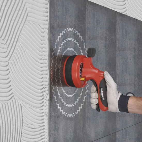 Vibrating Large Format Porcelain Tile for Wall Installation