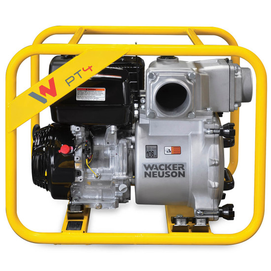 "Lightweight pump can handle up to 541 gpm (2050 l/m) 5100042217 Wacker Neuson 4"" PTA4"