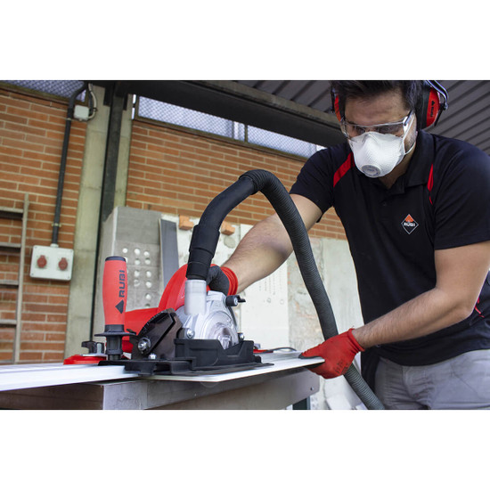Rubi Tools TC-125 Circular Saw Cutting Ceramic Tile
