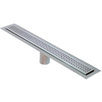 Drains Unlimited Square Perforated Linear Floor Drain