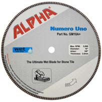 alpha numero uno diamond blade