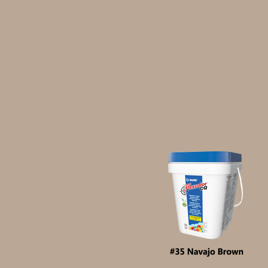 Mapei Flexcolor CQ Ready-to-Use Grout - Navajo Brown