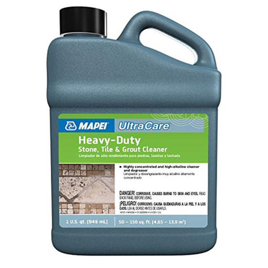Mapei Ultracare Heavy Duty Tile Stone And Grout Cleaner