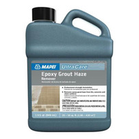 Mapei Ultracare Epoxy Grout Haze Remover. Removes tough epoxy grout haze and other coatings