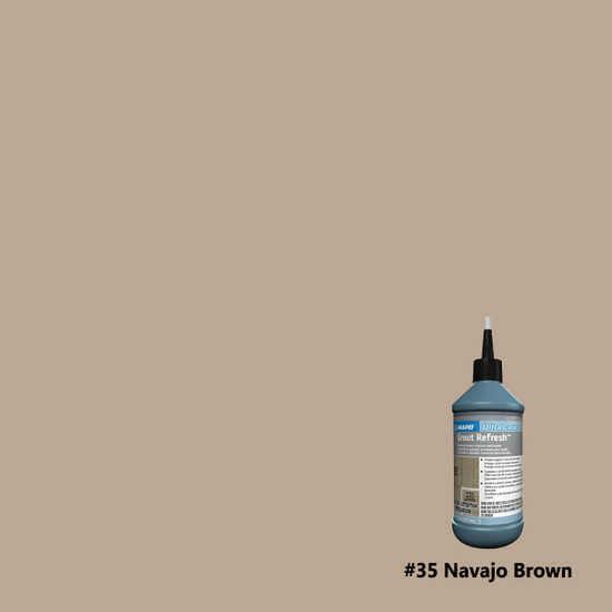 Mapei Ultracare Grout Refresh - Navajo Brown