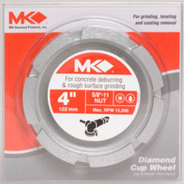 4 inch MK-404CG-1 Segmented Cup Wheel