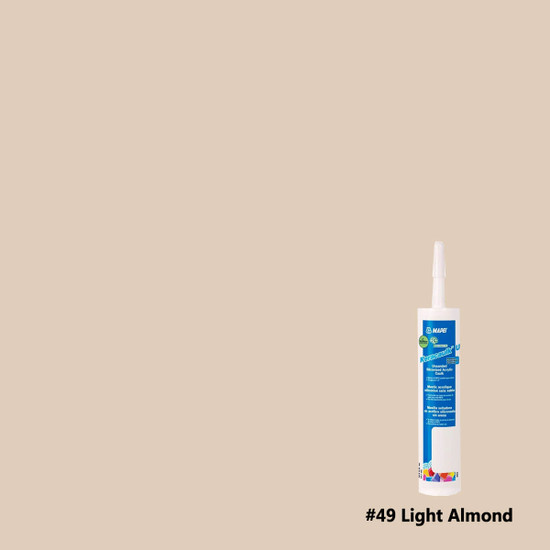 Mapei Keracaulk U Unsanded Caulk - Light Almond