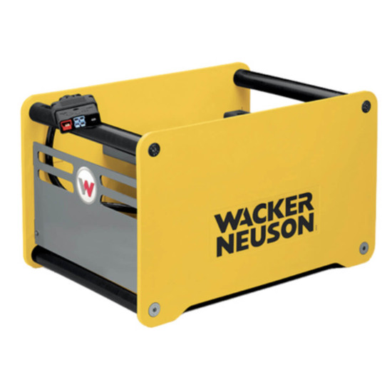 5100028231 Wacker Neuson C48/13 Li-Ion Battery Charger. for AS50e rammer and AP1850e plate
