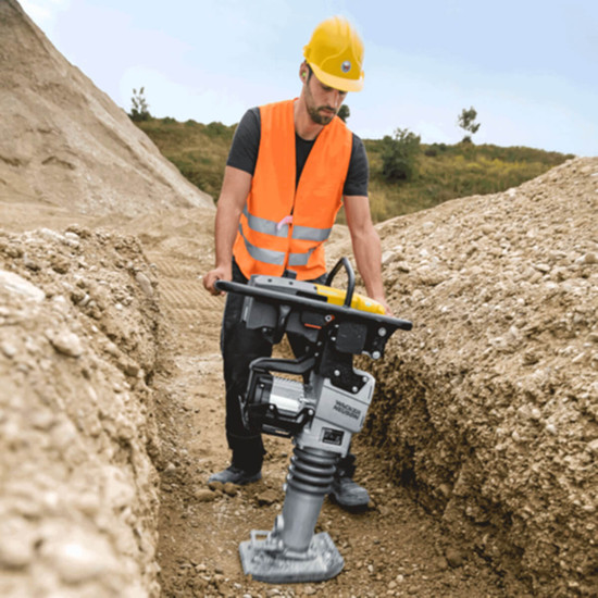 Wacker Neuson AS50 Battery Operated Trench Rammer