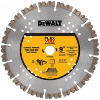"""Dewalt FlexVolt 9"""" (230mm) concrete diamond blade, DWAFV8900"""