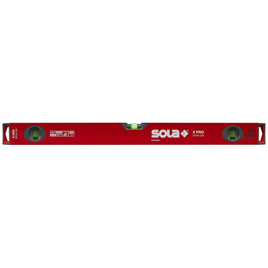 SOLA X PRO 24 inch Aluminum Box Profile Spirit Level