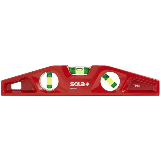 Sola 10 inch Die Cast Magnetic Torpedo Level