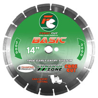 First-Cut BASIC2000 Diamond Blade - Hard Aggregate