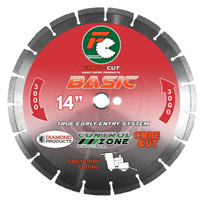 First-Cut BASIC3000 Diamond Blade - Medium Hard Aggregate