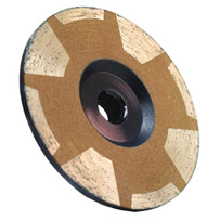 Alpha 4 inch Coarse Continuous Cup Wheel