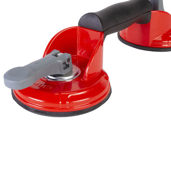66952 Rubi Tools Rough Surface Double Suction Cup