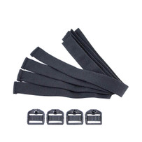 Knee-Pro Ultra Flex III Replacement Strap and Clips Pack of 4, S96110-6