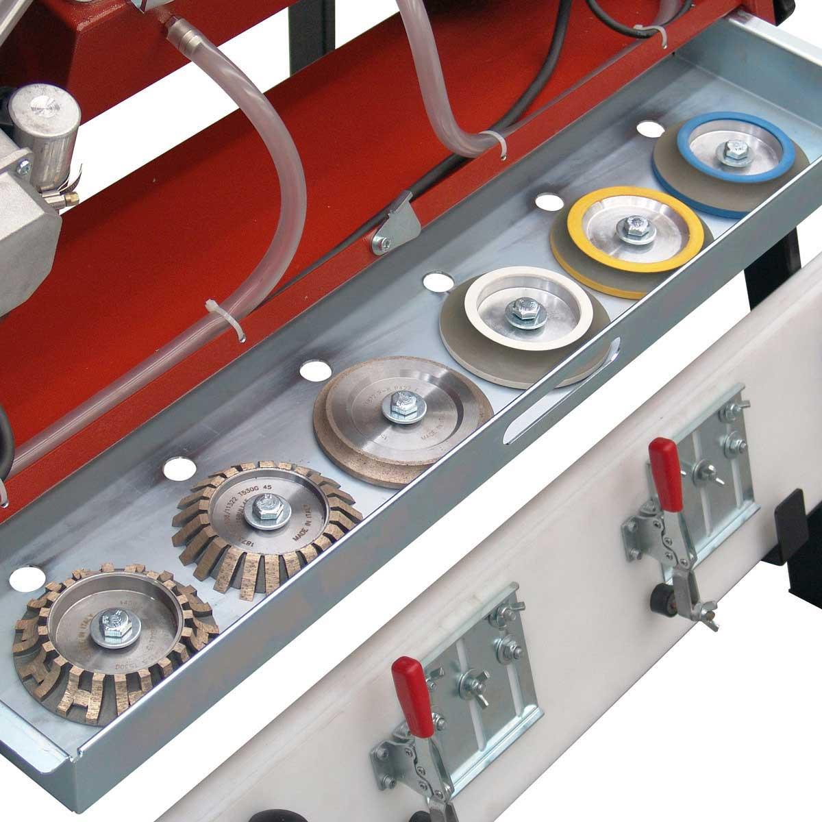 31 inch Sliding Table BD1WD Advanced Bullnose Machine
