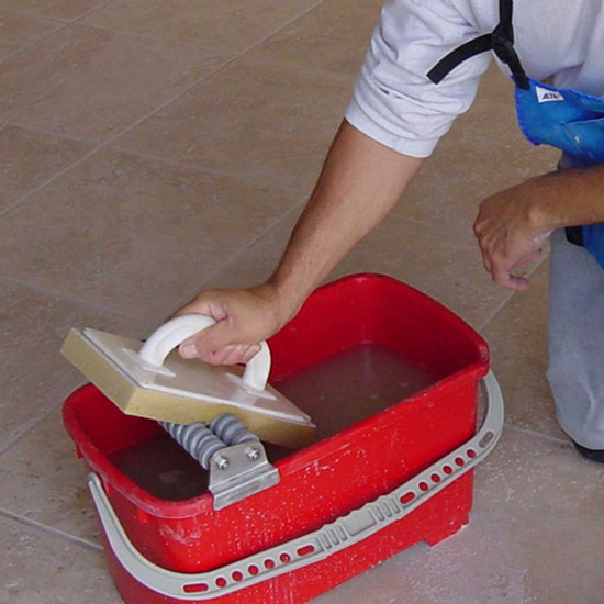 Grout Caddy Cleaning System Rollers