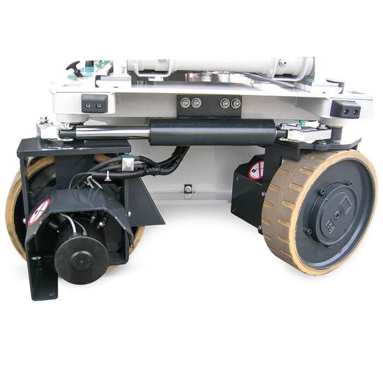 Electric front wheel drive motors Imer IM 4746 Electric Scissor Aerial Lift