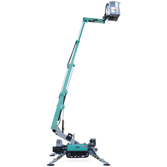 1128728 Imer Tracked Atrium Lift, IM R 13, 42 ft. reduced size of the units and portable remote controls ensure maneuverability in tight spaces