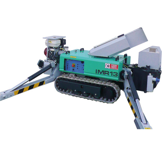 1128728 Imer Tracked Atrium Lift, IM R 13, 42 ft Automatic outrigger leveling system