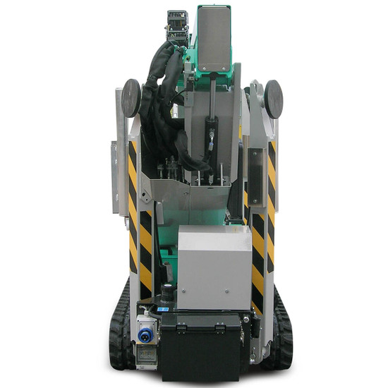 Imer Tracked Atrium Lift, IM R 13, 42 ft with automatic outrigger leveling system