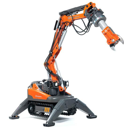 Husqvarna DXR Demolition Robot with DSS 200 Steel Shearer